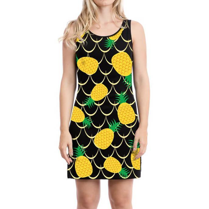 Vestido Regata Abacaxi