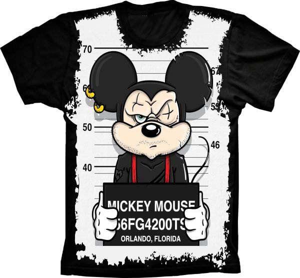 Camiseta Mickey Malvado