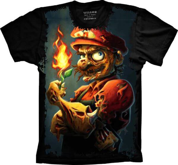 Camiseta Mario Zumbi