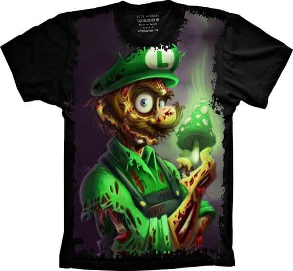Camiseta Luigi Zumbie