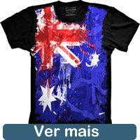 Camiseta Bandeira Australia