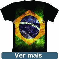 Camiseta Bandeira Brasil
