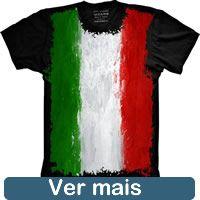 Camiseta Bandeira Italia